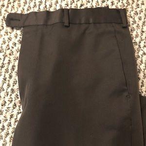 Men's dark brown dress pants